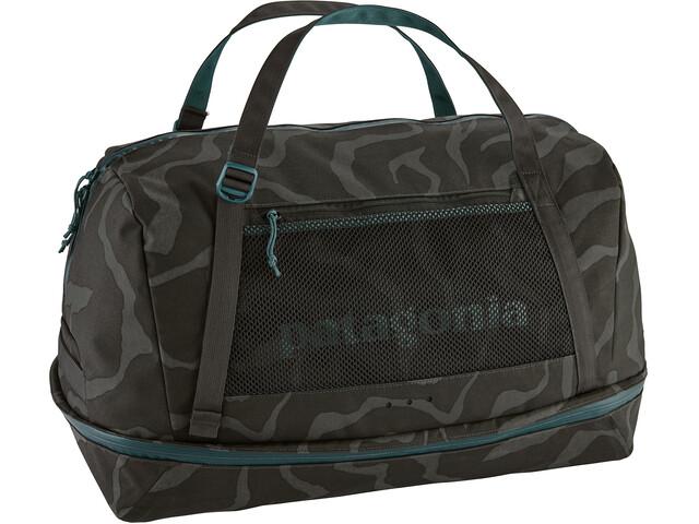 Patagonia Planing Duffel Bag 55l Tiger Tracks Camo/Ink Black